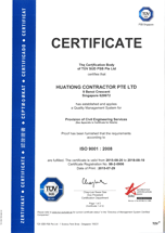 ISO 9001 – 2008 - Civil Engineering