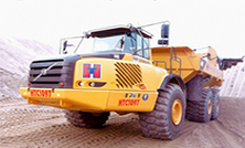 Articulated Volvo Dump Truck
